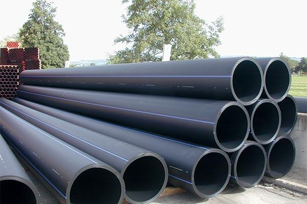 canalisations PEHD pour la distribution de l'eau potable