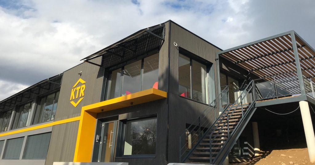 Bâtiment KTR après éco-renovation
