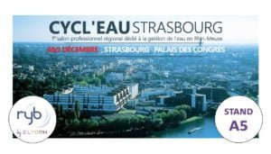 Ryb Groupe ELYDAN fait partie des exposants au salon Cycl'Eau Strasbourg 2019