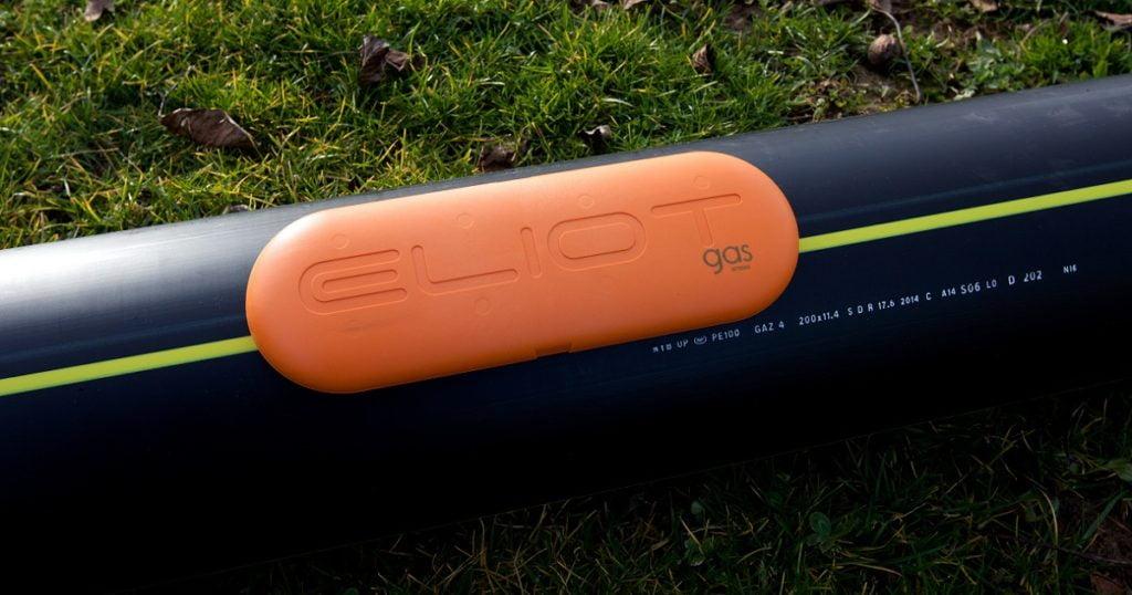 Boitier RFID ELIOT pour la détection du réseau de gaz